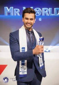 Rohit Khandelwal Mr World 2016