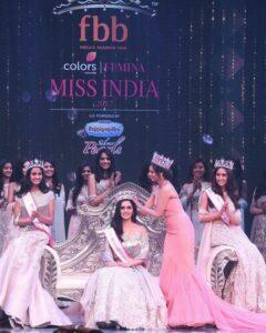 Manushi Chhillar Femina Miss India 2017
