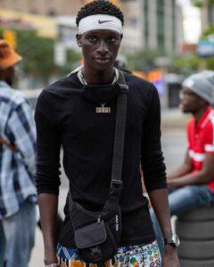 top model Baba Diop