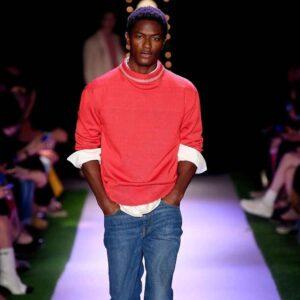 black male model Hamid Onifade