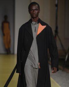 black male model Malick bodian
