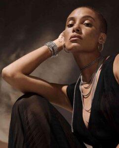 top black female model Adwoa Aboah