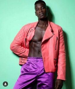 top black male model David Agbodji