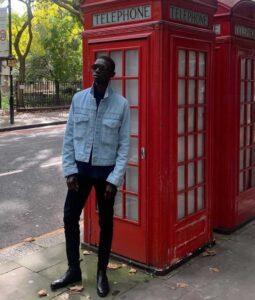 top black super male model Fernando Cabral model