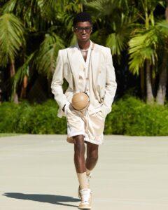 top black super male model Alton Mason model