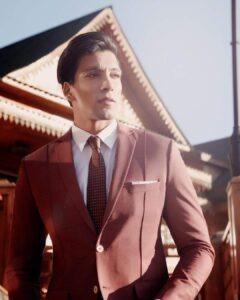 Prateek Baid is an india top male model