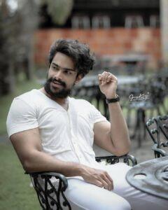 Vishnu Raj Menon is male model in india
