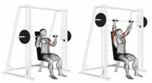 smith machine for shoulder press workouts