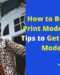 How to Become a Print Model – 7 Best Tips to Get into Print Modeling