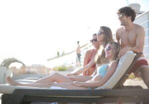 Take modeling courses to become bikini model