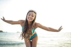 What are the types of bikini model