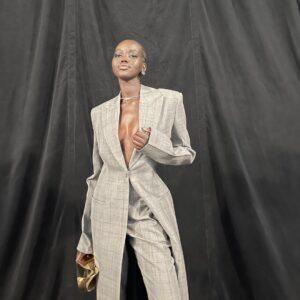 Adut Akech is black female model