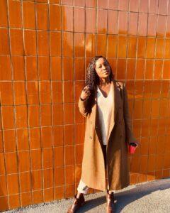 Aja Naomi king is beautiful black women
