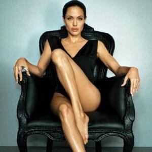 Angelina Jolie have beautiful legs