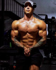 Anton Antipov male fitness models
