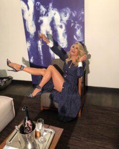 Christie Brinkley have beautiful legs