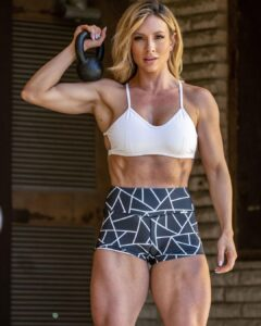 Paige Hathaway female fitness model
