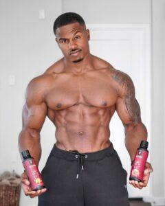 Simeon Panda male fitness models