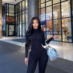 Yodit Yemane is fashion model