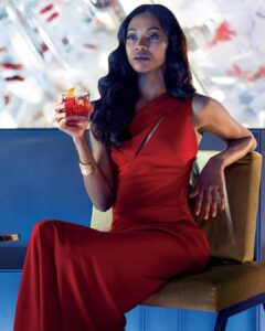 Zoe Saldana is beautiful black women