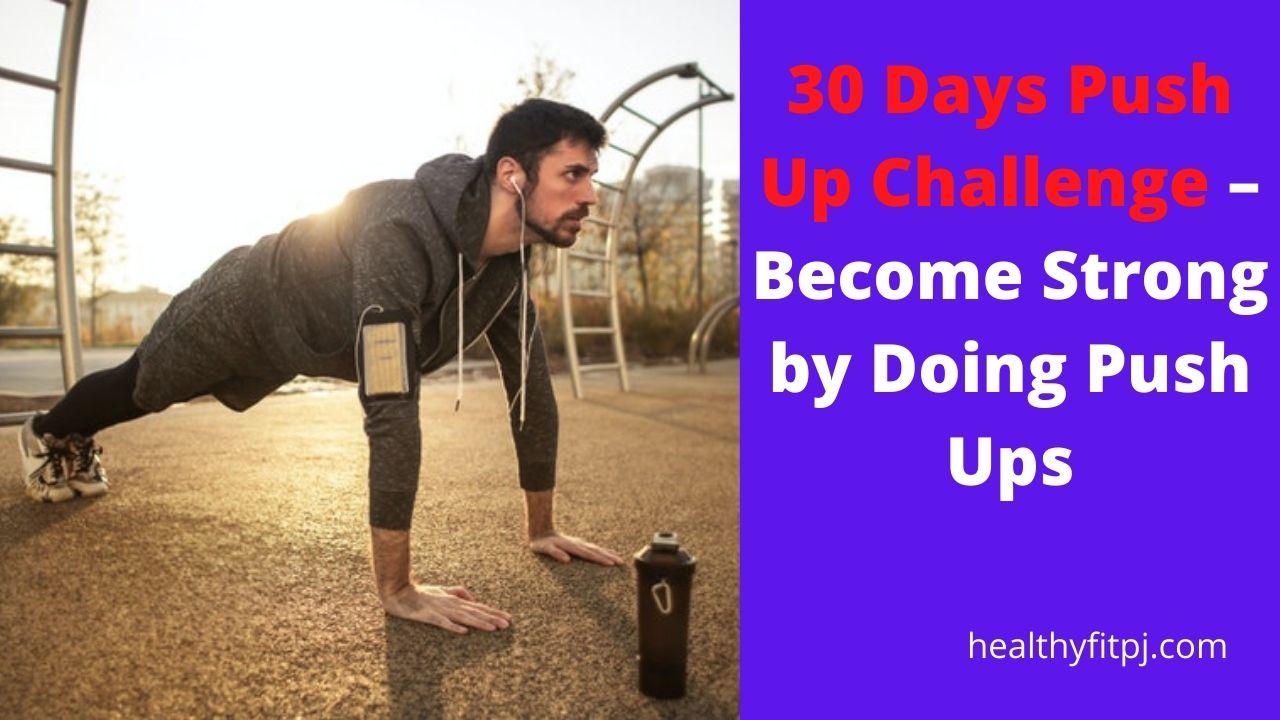 30 Days Push Up Challenge