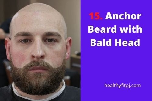 Anchor Beard with Bald Head