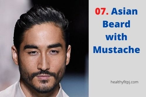 Asian Beard with Mustache
