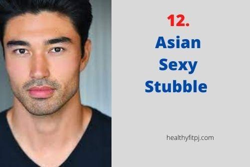 Asian Sexy Stubble