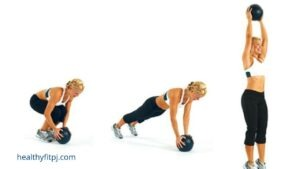 Burpee with Medical Ball