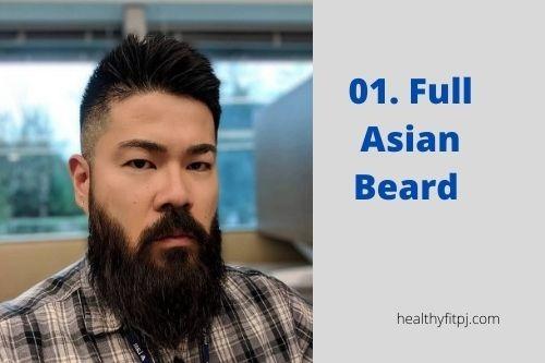 Full Asian Beard