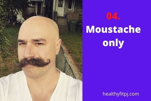 Moustache only
