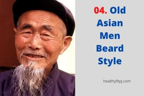 Old Asian Men Beard Style