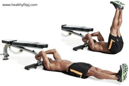 Leg Raise to build lower abs