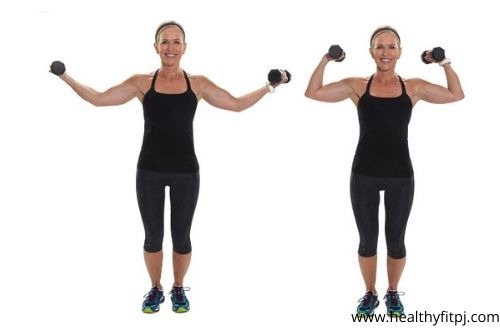 Isolated Single-Arm Curls