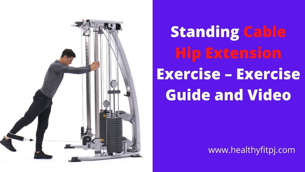 Standing Cable Hip Extension Exercise – Exercise Guide and Video