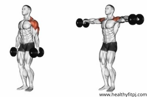 Step by Step Instructions to Do Lateral Raise