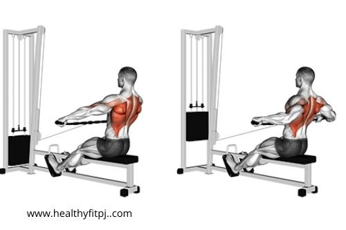 Wide Grip Seated Row