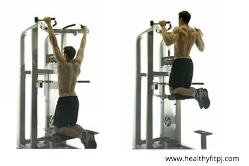 Assisted Pull Ups