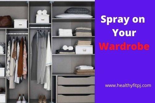 Spray on Your Wardrobe