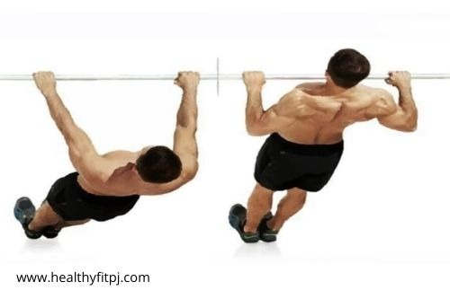 Wide Grip Inverted Row